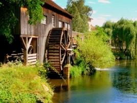 Mühle im Ecomusée d'Alsace