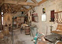 Altes Bauernhaus im Ecomusée d'Alsace